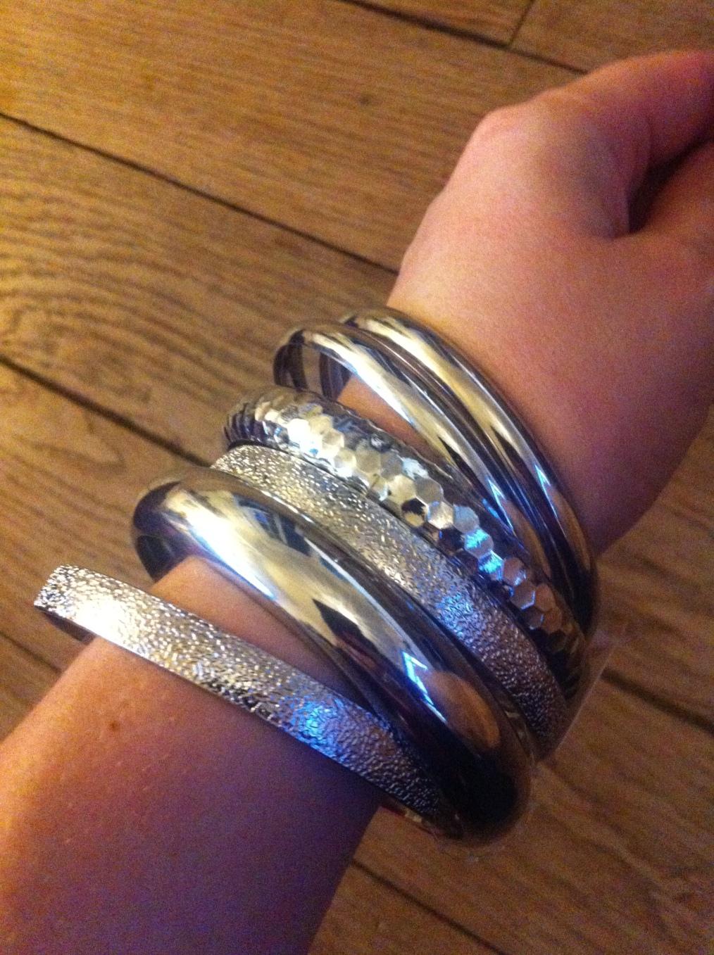 bracelets argent forever 21